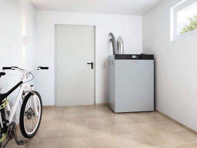 Wood Pellet Boiler compact wood boiler for residential homes
