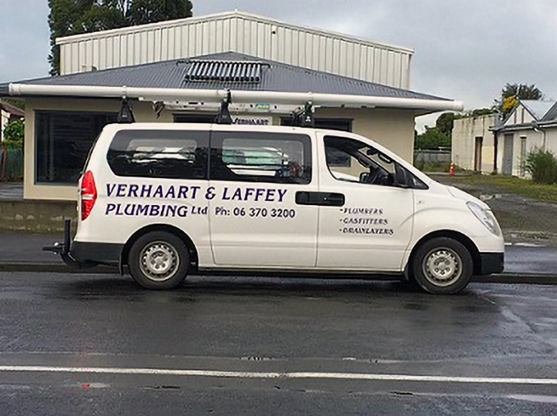 Central heating installation Verhaart and Laffey