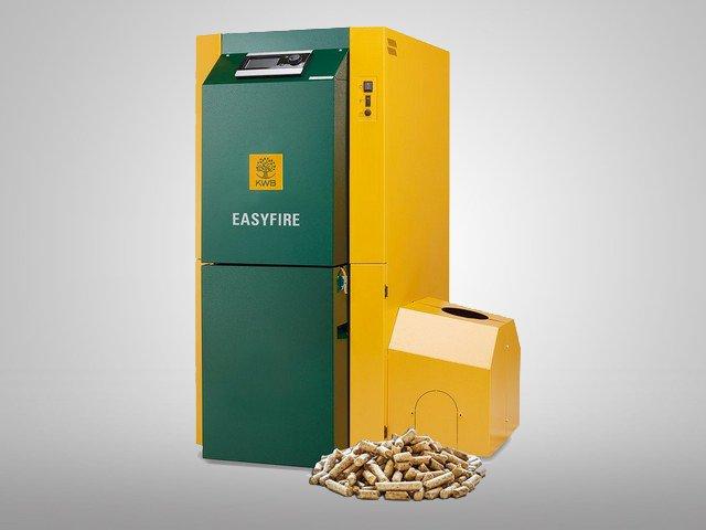 Pellet boiler easyfire KWB boilers