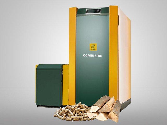 Wood boiler KWB combifire